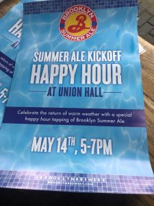 brooklyn summer ale kickoff